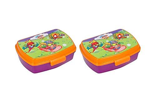 Varie SUPERZINGS STOR SANDWICHERA Funny - Pack 2 Unidades. Envío rápido. (Multicolor). Envío rápido.