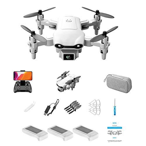 Skecten V9 Mini-Drohne mit 4K HD-Kamera, faltbarer Quadcopter mit FPV-WLAN-Kamera für Erwachsene Kindergeschenke. Mit Auto-Hover, Flugbahn / 3D-Flips / One Key Return (3*Batterien)