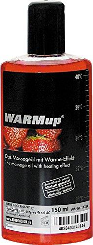 Joydivision WARMup Massageliquid White Chocolate, 150 ml