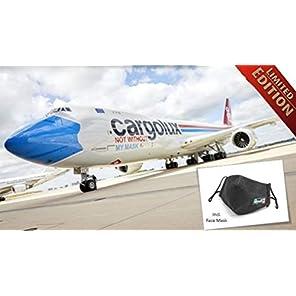 ドイツレベル 1/144 ボーイング 747-8F カーゴルックス マスク塗装 プラモデル 03836