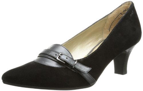Marc Shoes Marita 1.407.14-21/100, Damen Pumps, Schwarz (Black 100), EU 38 2/3 (UK 5.5)