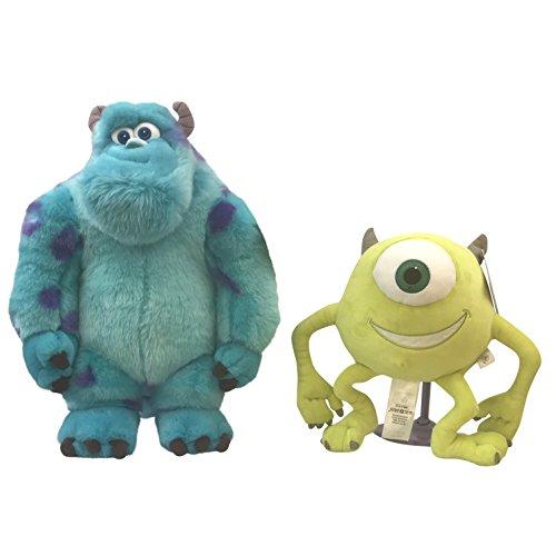 Price Toys Sulley y Mike Disney Suave Conjunto de Juguete - Monster Medio Universidad de Peluche (Mike / Sulley) (Mike/Sulley)