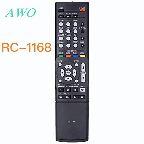 Calvas RC-1168 für Denon AV Audio/Video Receiver RC-1168 AVR 1613 AVR 1713 C-1181 1189 1912 1911 2312 3312 4310