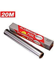 "Aluminum Foil Roll Heavy Duty Non Stick Thick Aluminum Foil Sheet Baking Grilling Tool 11.8"" x 65.6 Ft"