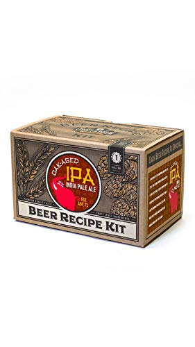 Craft a Brew Craft A Oak Aged IPA Refill Recipe Kit-1 Gallon-Ingredients for Home Brewing Beer