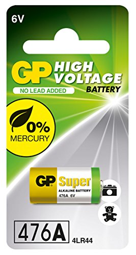 GP Batteries 30220 Battery Alkaline 6V