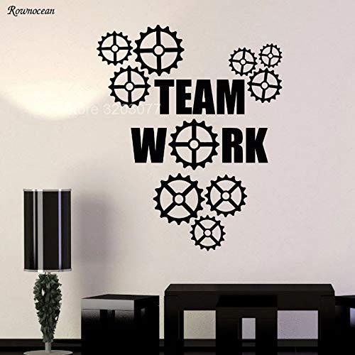 sanzangtang creatieve gear muur stickers home decor woonkamer verwijderbare vinyl stickers muurschildering kantoor raamdecoratie
