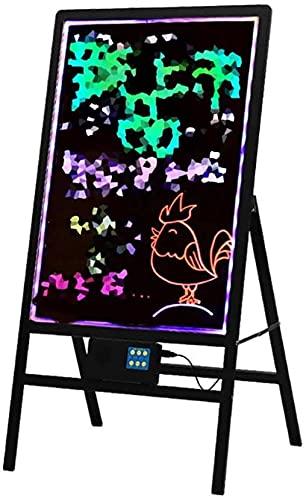 WXFCAS GUIDATO Bordo Fluorescente Scrittura a Mano Lavagna Lavagna Elettronica Scrittura pubblicitaria pubblicità Display Store Store Shopping Center Cafe Decorazione Intelligente lavagne