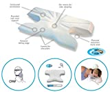 Schlafkissen mit Memory-Schaum, mit Coolmax Kissenbezug, orthopädisch / gegen Schwellungen,...