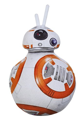 Daum - Pimp Up Your Life 15893 – Disney Star Wars Forma Cojín BB de 8, Peluche, 34 cm