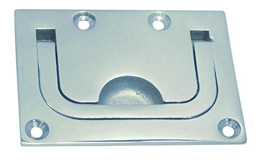 Bodenheber / Einlassgriff, rechteckig, 75x56mm