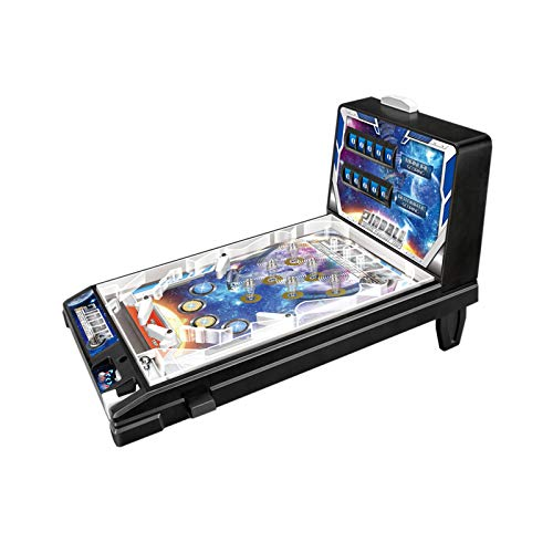 HMM Mini Pinball Toy Space Pinball Pinball Game Child Puzzle Pinball Machine Kids Pinball Style Table Board Game Retro Arcade