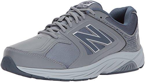 New Balance Men's 847 V3 Walking Shoe, Grey/Grey, 10 W US