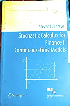 Stochastic Calculus For Finance Ii Continuous Time Models  Pb 2014