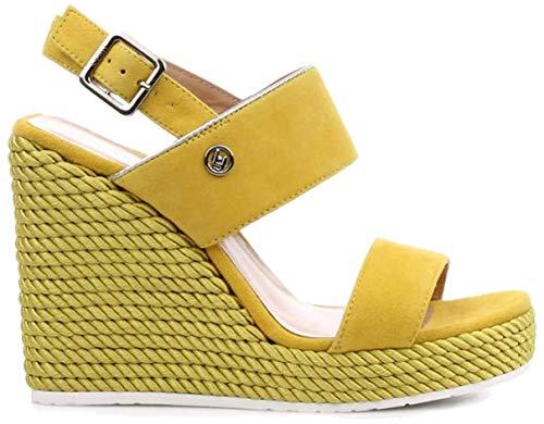Liu Jo S19095P0021 Sandalo Zeppa Giallo35