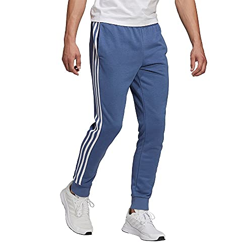 adidas GK8890 M 3S FT TC PT Pantaloni Sportivi Uomo Crew Blue/White XL