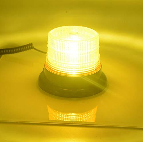 SHIJING DC 12 V-80 V auto stroboscoop LED knipperlicht vrachtwagen cargo transporter cirkelsignaal plafondlamp magnetisch politie waarschuwingslicht lamp 3 kleuren 2