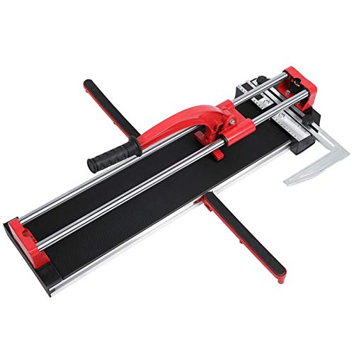 Cortador manual de azulejos de 600 mm, doble riel, aleación de aluminio, cortador manual de azulejos, cortadora profesional de azulejos