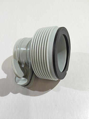 Intex slang conversie adapters kit voor aanpassingen van grotere 2000 & 2500 gph filter pomp systeem op 16' diameter of kleinere zwembad set