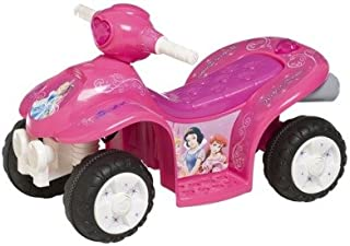 Pacific Cycle Disney Princess 6 Volt Quad Ride-on Car - Pink