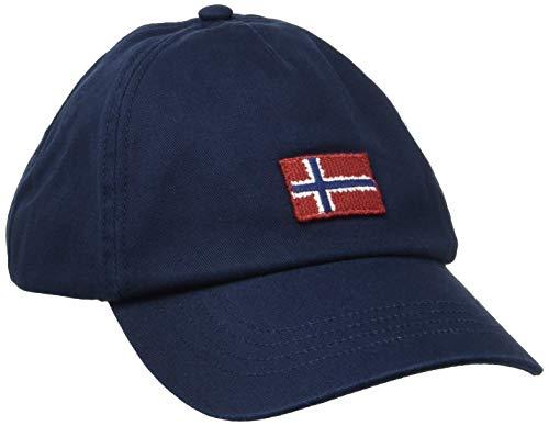 Napapijri Herren FONTAN Baseball Cap, Blau (Blu Marine 1761), One Size (Herstellergröße: OS)
