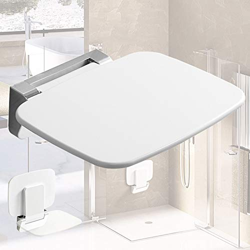 LXYYSG Duschklappsitz, Wandmontage Duschsitz Klappbar Duschhilfe Dusche Klappsitz Klappbar, für Schwangere, Senioren, Behindert