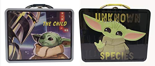The Tin Box Company The Mandalorian'The Child' Large Tin Carry Alls (set of 2), Model Number: 347647-12