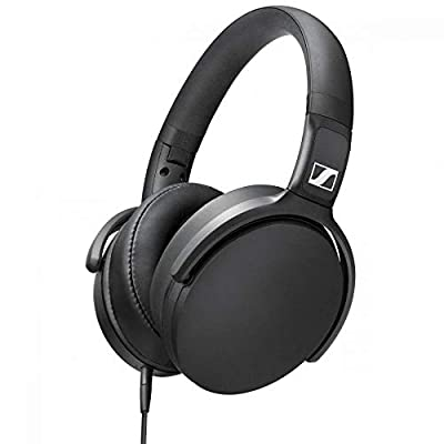 Sennheiser HD 400S - Over-Ear Headphone with Smart Remote, Black from Sennheiser