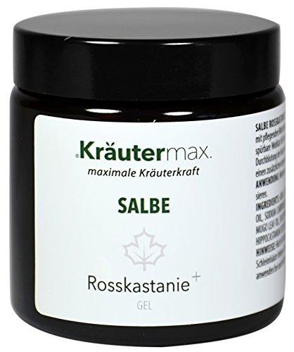 Kräutermax Rosskastanien Extrakt Gel 1 x 100 ml Bein Salbe