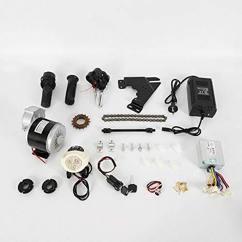 "RANZIX 350W 24V Elektromotor Kit Elektroroller Conversion Kit DIY E-Bike Motor für 22-28\"""