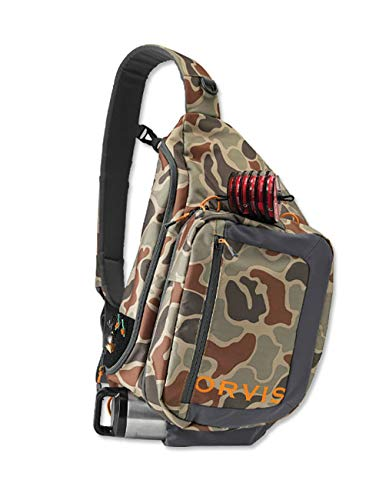 Orvis Safe Passage Guide Sling Pack, Brown Camo