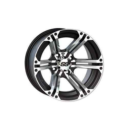 TP1609 - Llanta Utilitario SS212 Aluminio Negro 14X8 4X110 5+3