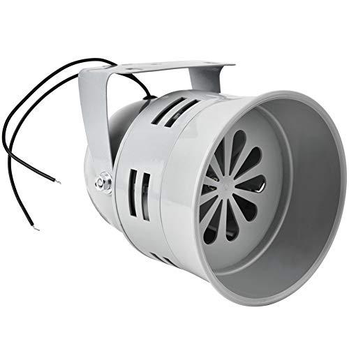 T osuny Allarme Motore Elettrico - Avvisatori acustici da 120 Db Forti avvisatori acustici/Allarme/Sirena azionati da Motore Elettrico, Mini avvisatore Acustico antincendio per Cantieri, ECC.(220V)