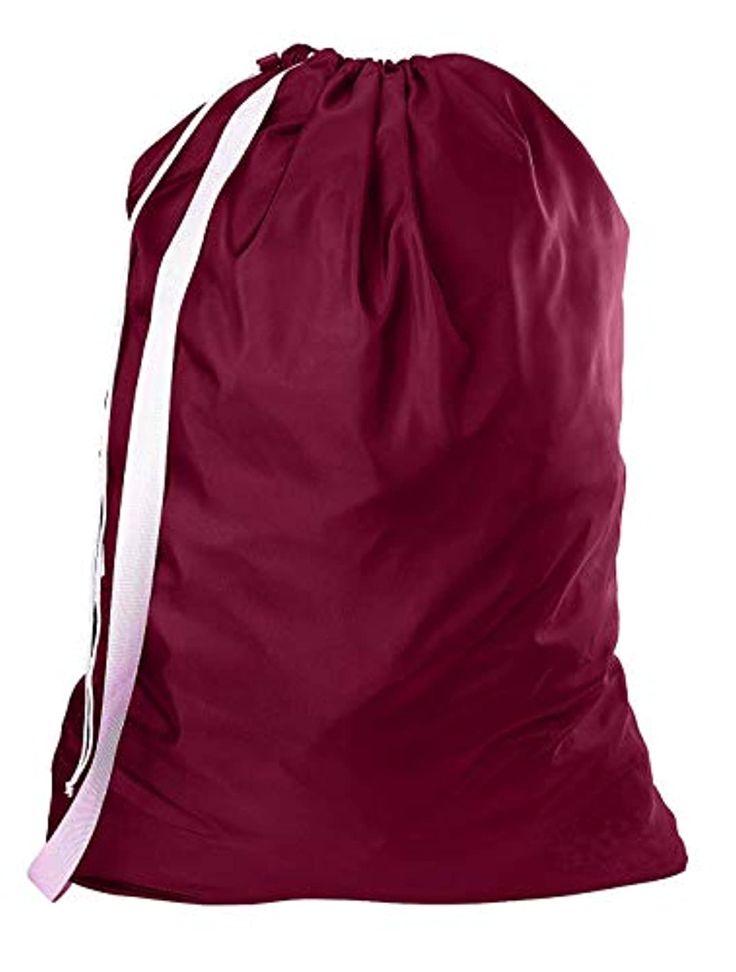 Nylon Laundry Bag with Reliable Shoulder Strap - 30