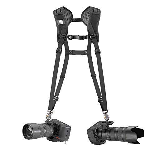 BlackRapid Double Breathe Camera Harness, Trusted Design for One Or Two SLR, DSLR, Mirrorless Cameras