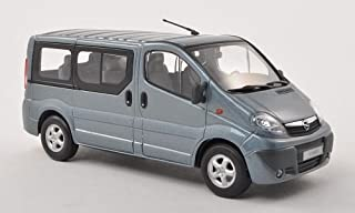 Opel Vivaro Bus, met. blau grau , Modellauto, Fertigmodell, Minichamps 1:43