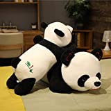 80cm söt fylld plysch KÄRLEK Panda leksak tecknad kontor tupplur kudde docka för Barn julklapp Baby leksaker närvarande 80 cm