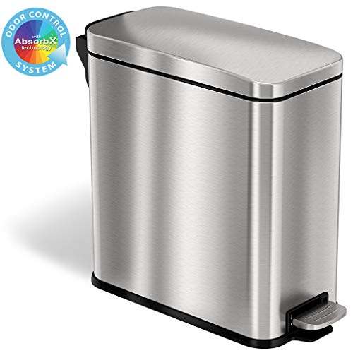 Product Image of the iTouchless SoftStep Step Trash Can