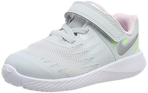 Nike Jungen Star Runner (TDV) Leichtathletikschuhe, Mehrfarbig (Pure Platinum/Metallic Silver/Lime Blast 005), 25 EU