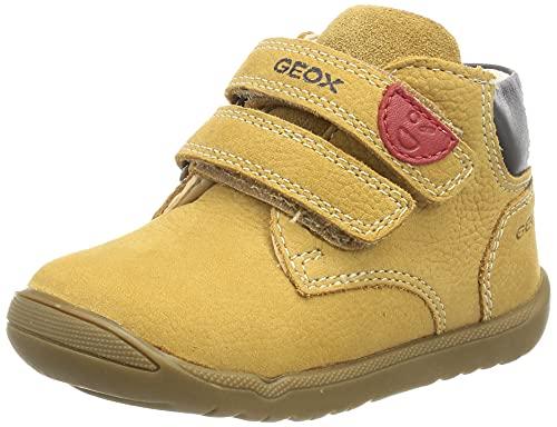 Geox B Macchia Boy C, Scarpa per Neonati Bimbo 0-24, Biscuit, 24 EU