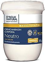 Creme de Massagem Neutro, D'agua Natural, 650 g