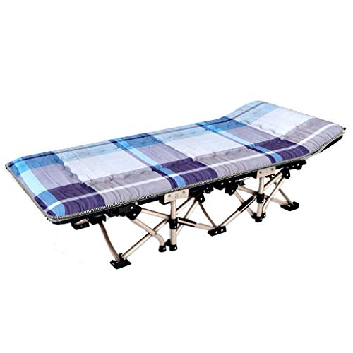 ZGQA-GQA Folding Bed Single bed lunch bed office camp bed siesta bed simple portable home Traveling and Home Lounging