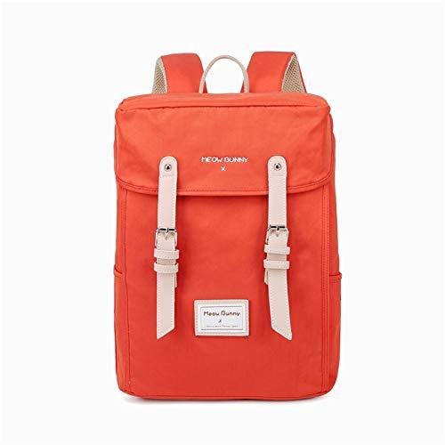 16 inch Laptop Waterbestendig Boekentas, Meisje Doek Opvouwbare Rugzak/fit Werk School Reizen