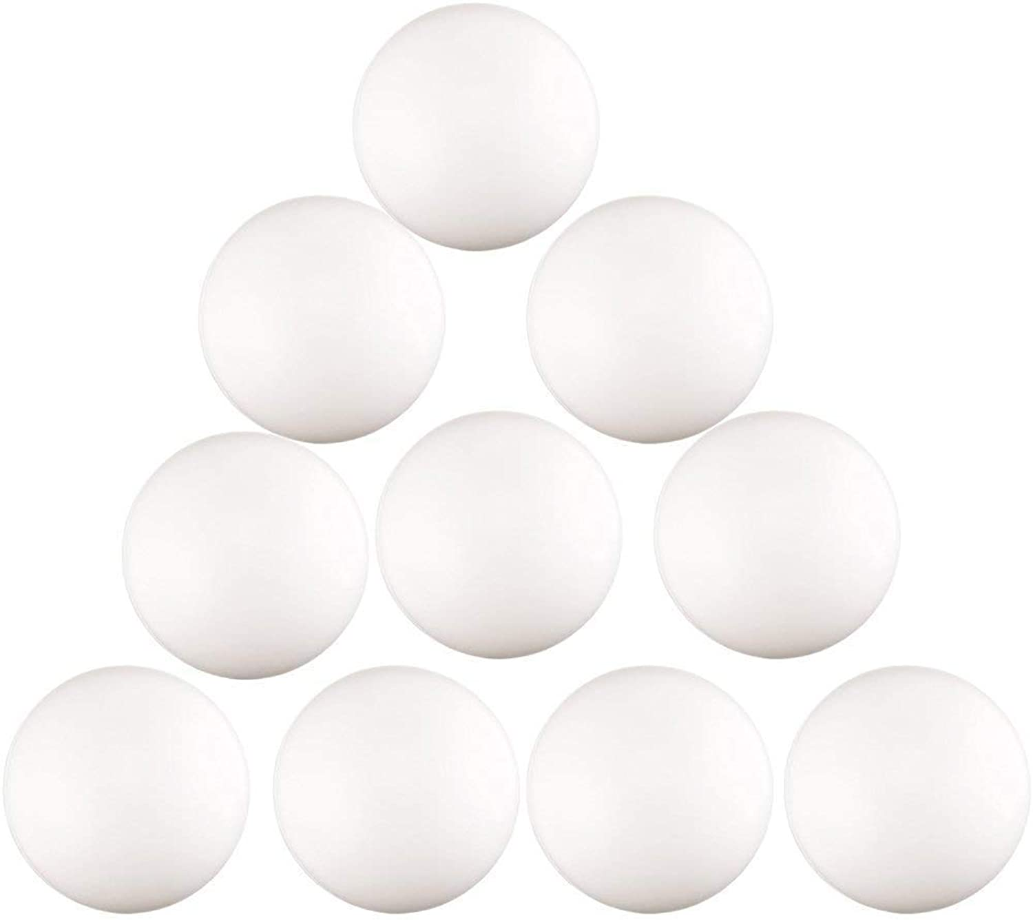 Kaptin 150 Pcs 40mm Plastic Beer Pong Balls,Table Tennis Ball,Beer Pong Tables,Ping Pong Balls Games,White