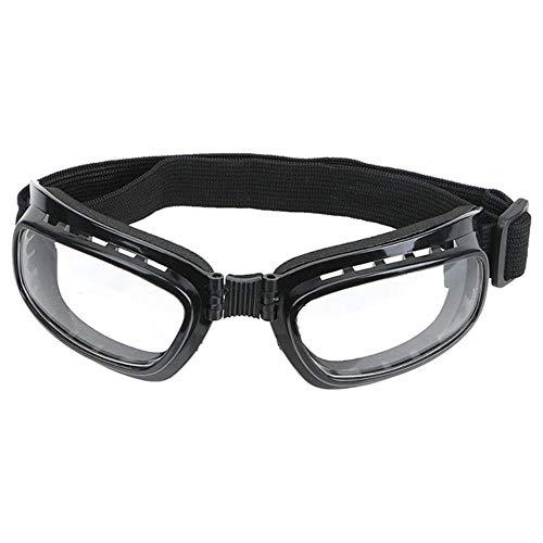 Anti-Glare skibril, winddicht, stofbescherming, UV-stralen Wit