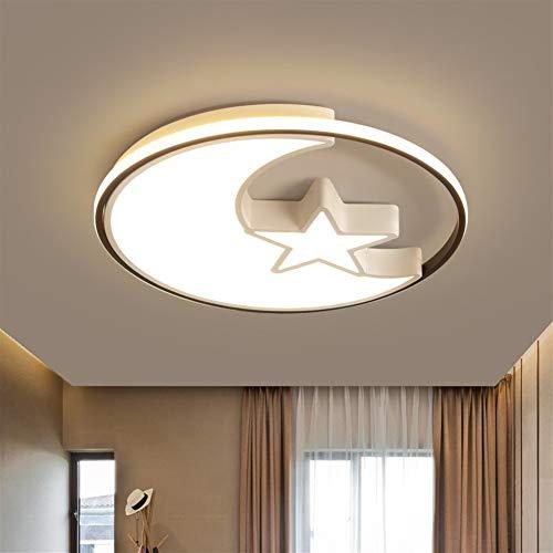 LVYI eenvoudige en creatieve led-plafondlamp, warme en romantische kinderkamerlampen, slaapkamerlamp, woonkamerlamp, leeslamp, geschikt voor badkamer, keuken, hal