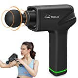Snailax Massage Gun,Deep Tissue Percussion Massage Gun for Athletes,Cordless Muscle Massager Gun, Handheld Neck Back Massager,Quiet Fascia Gun for Muscle Pain Relief