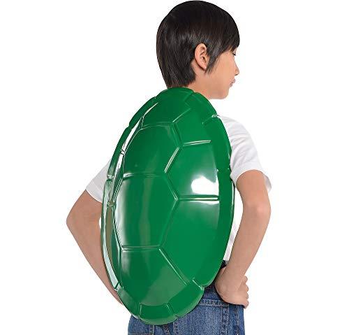 Amscan Teenage Mutant Ninja Turtles Shell, Halloween Costume Accessory for Kids, One Size, 16