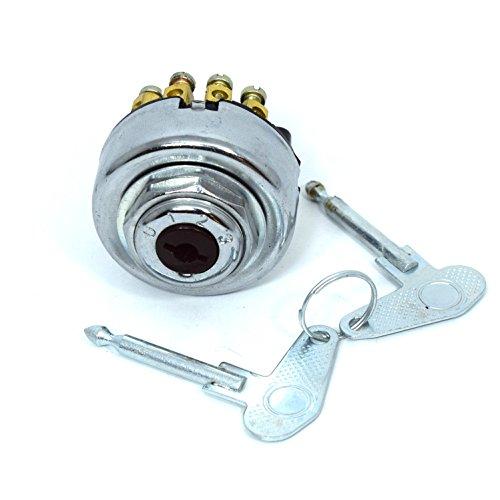 Zündschloss mit 2 Schlüsseln 8 Polig Universal für Auto-Traktor-Anhänger Bagger