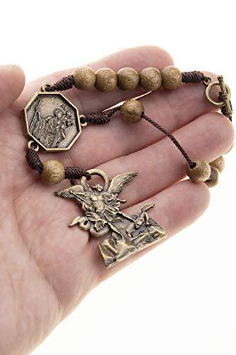st michael auto rosary - 5